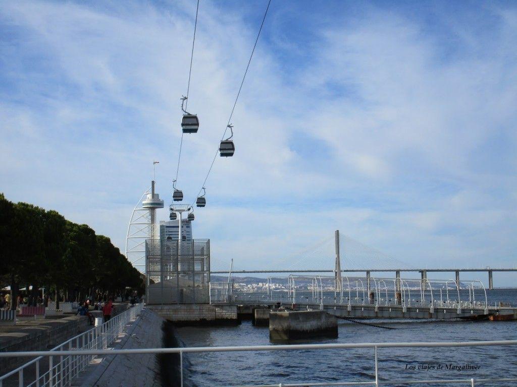 Funiculares de la Expo 98 de Lisboa - Los viajes de Margalliver